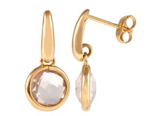 boucles d'oreilles quartz bellon