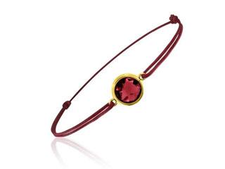 bracelet grenat bellon