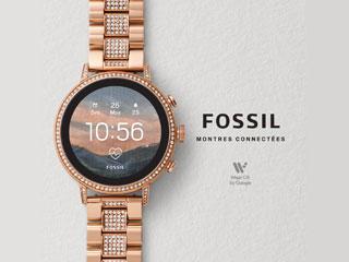 montre Fossil connectée